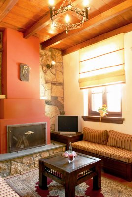 Suite up to 3 persons with fireplace