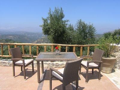 Location de gîtes en Crète avec piscine et jardin privatif - MALATHIROS