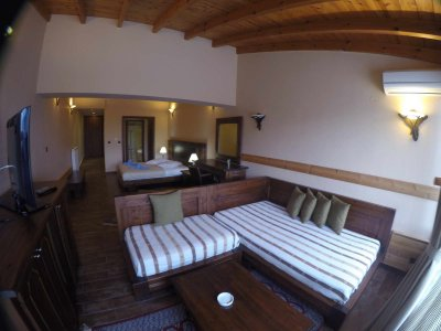 Triple Junior Suite with Jacuzzi & Veranda with Panoramic View