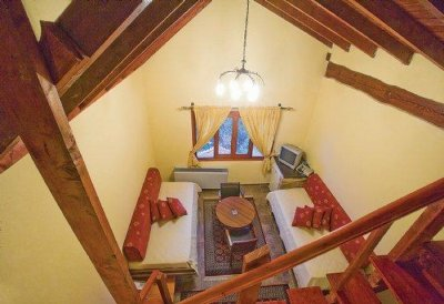 Quadruple Attic Room with Lake View
