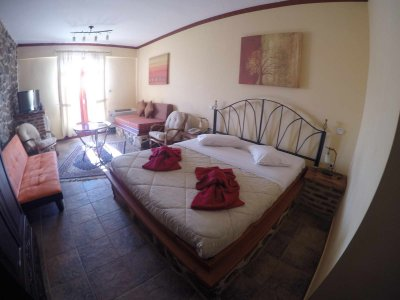 Double Room with Balcony &  Panoramic View