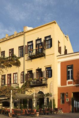 Hôtel de charme en Crète sur le vieux port de Chania - ALCANEA
